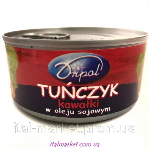 Тунец в масле куском Tunczyk kawalki v oleju 170 г, Dripol