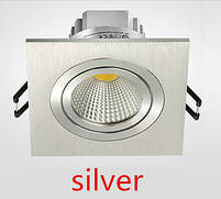 Светильник Downlight LED BR-001 7вт 230в  silver  6500К, фото 2