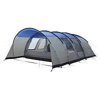Кемпинговая палатка High Peak Leesburg 6 (Grey/Blue)