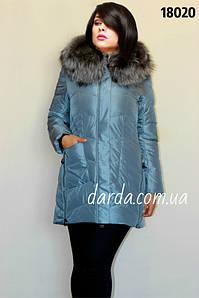 Женская зимняя куртка больших размеров Mishele № 18020