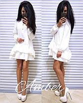 Платье с рюшами, размер единый 42-46, фото 3