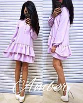 Платье с рюшами, размер единый 42-46, фото 2