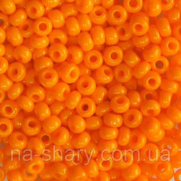 Чешский бисер для рукоделия Preciosa (Прециоза) оригинал 50г 31119-93110-10 оранжевый