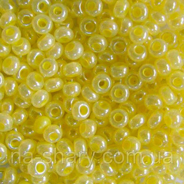 Чешский бисер для рукоделия Preciosa (Прециоза) оригинал 50г 33119-37186-10 желтый