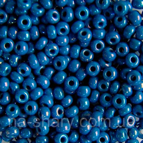 Чешский бисер для рукоделия Preciosa (Прециоза) оригинал 50г 33119-34210-10 синий