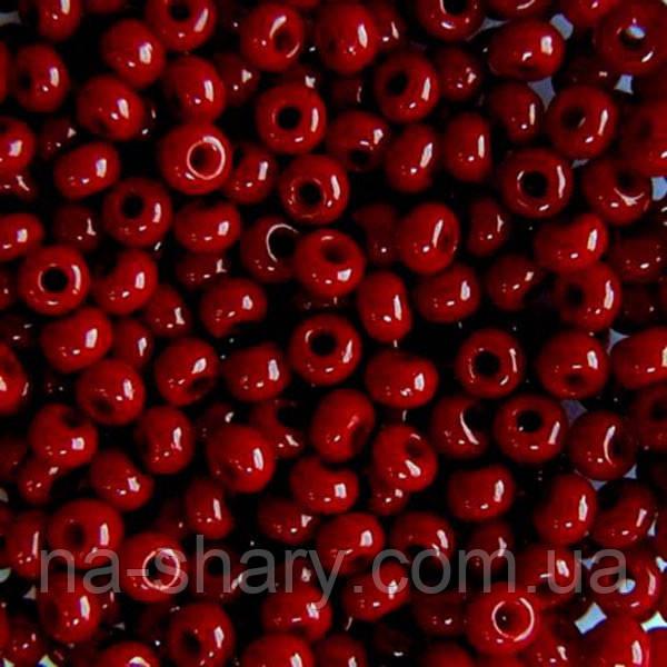 Чешский бисер для рукоделия Preciosa (Прециоза) оригинал 50г 31119-93310-10 красный