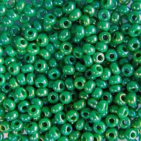 Чешский бисер для рукоделия Preciosa (Прециоза) оригинал 50г 33119-54250-10 зеленый