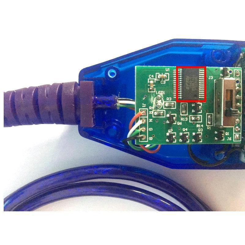 Obd2 Диагностический кабель для VAG 409 USB ККЛ Fiat . Для сканирования ЭБУ  автомобилей с 4мя способами перек