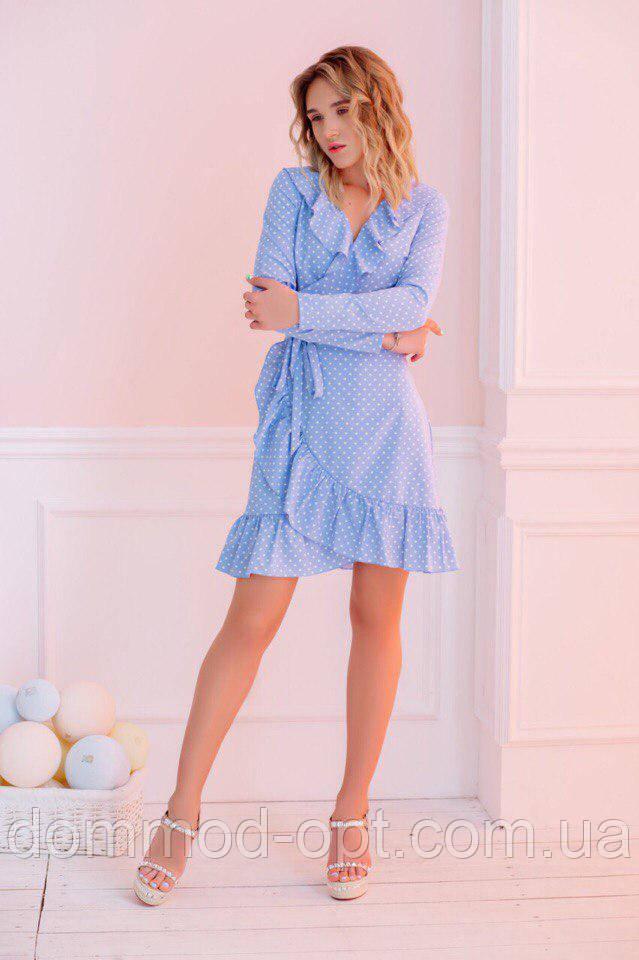 Жіноча коротке плаття №335 в кольорах