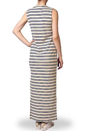 Платье женское макси Pieces полоска, фото 2
