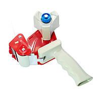 Пістолет Buromax для пакувального скотчу 50 мм червоний (BM.7400-02)