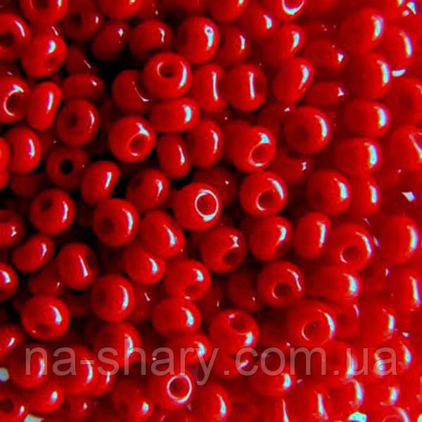 Чешский бисер для рукоделия Preciosa (Прециоза) оригинал 50г 31119-93210-10 красный