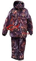 """Зимний теплый костюм для охоты и рыбалки  """"Клен"""" утепленный на флисе (Алова)"""