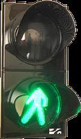 Светофор СД П1.1-С Светофор дорожный светодиодный, пешеходный, 2-х секционный, D = 200мм