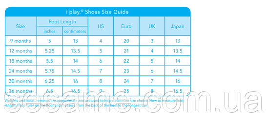 size-charts-shoes