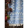 Покрывало Barine - Kilim Throw Blue 130*170 голубой, фото 2