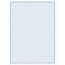 Набір паперу мілліметрового, А4, 20 аркушів, відривні листи, асорті