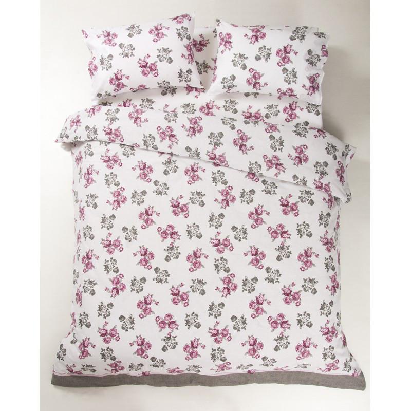 Постельное белье Lotus Ranforce - Patrice розовый двуспальное
