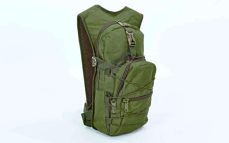 Рюкзак тактичний з місцем під питну систему V-10л(р-р 46х24х8см)
