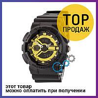 Спортивные наручные часы Casio G-Shock GA-110 G Mate Black-Gold
