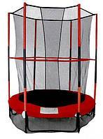 Батут SkyJump 140 см с защитной сеткой, фото 1