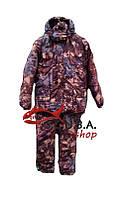 """Зимний костюм для охоты и рыбалки """"Осеняя хвоя"""" утепленный на флисе (Алова)"""