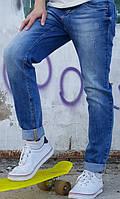Стильные женские джинсы синие