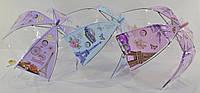 Зонт зонтик детский прозрачный купольный Париж для девочки 4-8 лет