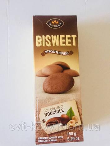 Печення Bisweet горіх 150 грам, фото 2