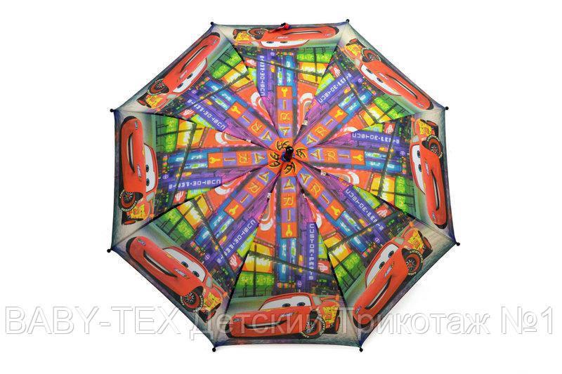 """Дитячий парасольку для хлопчиків з тачками на 5-9 років від фірми """"Paolo"""""""