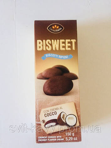 Печення Bisweet кокос150 грам, фото 2