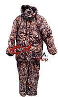 """Зимний костюм для охоты и рыбалки """"Зеленый камыш"""" утепленный на флисе (Алова)"""