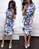 Нежное летнее платье, размер единый 42-44, фото 2