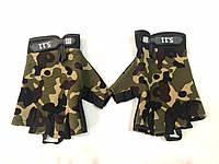 Перчатки без пальцев с логотипом 5.11 Камуфляжные