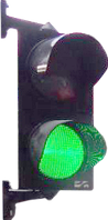 Светофор светодиодный КПП200