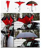 Зонт зворотного складання Up-brella, фото 7