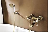 Смеситель в ванную комнату в бронзе 2-016, фото 1