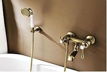 Змішувач в ванну кімнату в бронзі 2-016