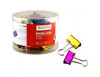 Біндери для паперу Optima, кольорові, 41 мм, 24 шт.(O41068)