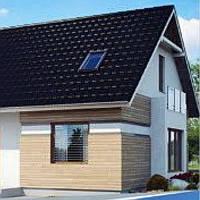 Жилой дом по технологии ЛСТК . Цена под ключ площадь дома 177 кв.м.