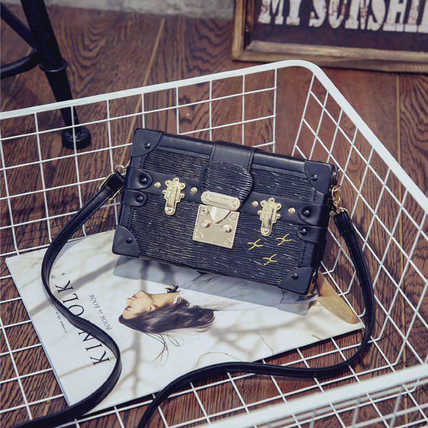 a9bbf805feda Маленькая женская сумка Книжка LOUIS VUITTON (реплика) черная -  PrettyLady.com.ua