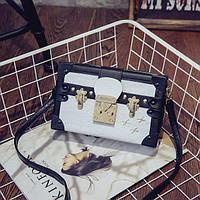Маленькая женская сумка Книжка LOUIS VUITTON (реплика) белая, фото 1