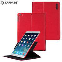 Чехол-книжка для Apple iPad AIR, iPad 2017 iPad 2018, Capdase Folio Dot, Натуральная кожа, красный /flip case/флип кейс /айпад