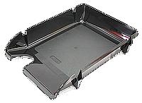 """Лоток пластиковий для паперу АРНИКА """"Компакт"""", JOBMAX, чорний, 370х270х65 мм (80603)"""