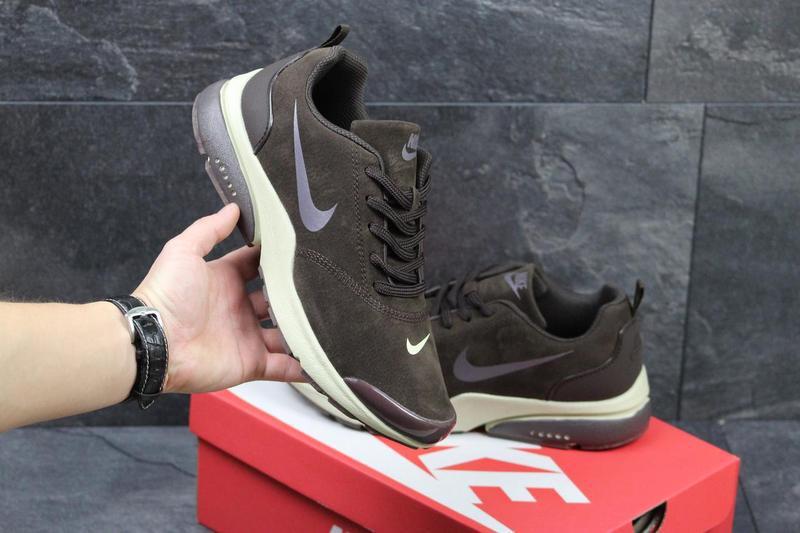 04c038c6 Мужские кроссовки в стиле Nike Air Presto, коричневого цвета / кроссовки  Найк Аир Престо,