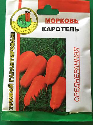 Насіння моркви Каротель 20 г, фото 2