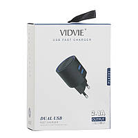 Сетевое Зарядное Устройство Vidvie PLE201 Lightning