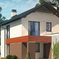 Жилой сборный дом по технологии ЛСТК площадь дома 210 кв.м.