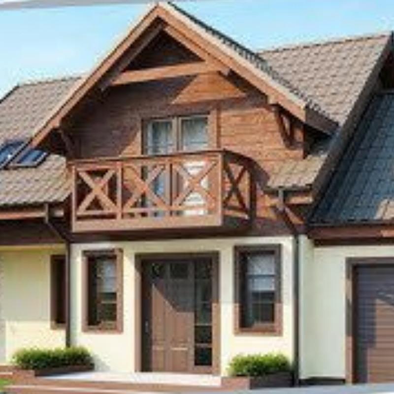 Жилой дом по технологии ЛСТК  площадь дома 176 кв.м.