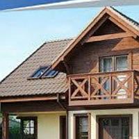 Жилой дом по технологии ЛСТК . Цена под ключ площадь дома 156 кв.м.